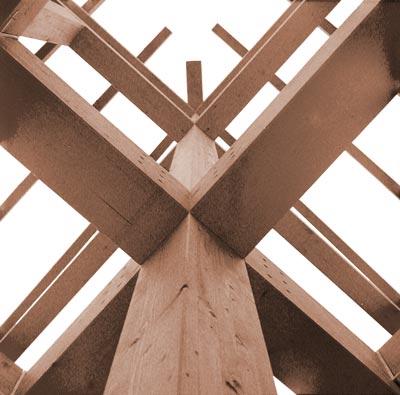 Holzskelettbau konstruktion  Schauer-Volhard_Architekten_Bauten_und_Projekte_Haus_B